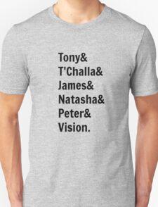 Team Tony... Unisex T-Shirt