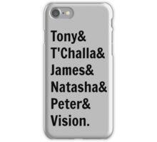 Team Tony... iPhone Case/Skin