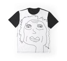 poorly drawn hilary clinton Graphic T-Shirt