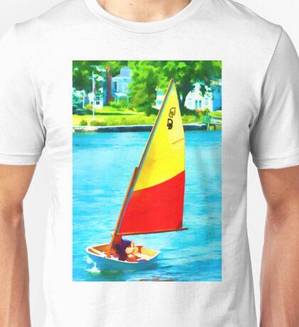 Small Boat Fun Unisex T-Shirt