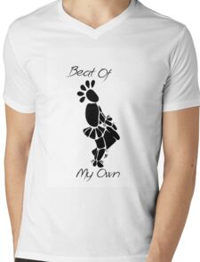 """Beat Of My Own"" Artwork by Carter L. Shepard""  Mens V-Neck T-Shirt"