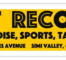 Best Records Simi Valley (Logo Reimagined, Updated Logo) Sticker
