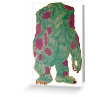Sully Greeting Card