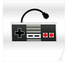 NES Controller - Retro Poster