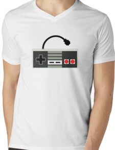 NES Controller - Retro Mens V-Neck T-Shirt