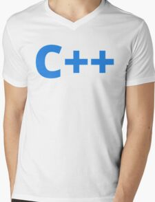 C++ Mens V-Neck T-Shirt