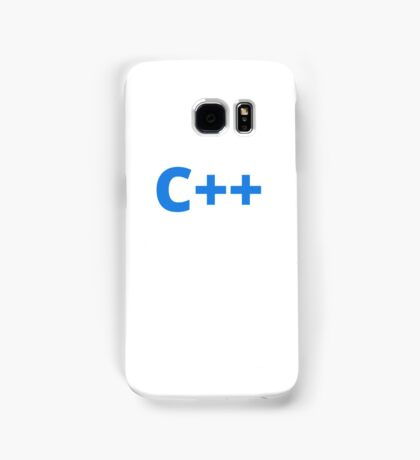 C++ Samsung Galaxy Case/Skin