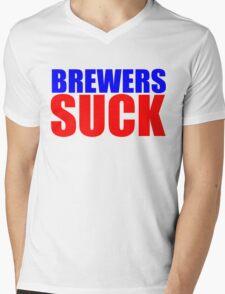 Chicago Cubs - BREWERS SUCK  Mens V-Neck T-Shirt