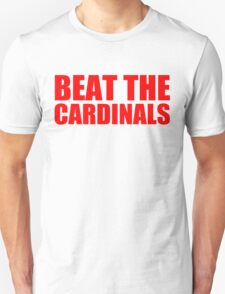 Chicago Cubs - BEAT THE CARDINALS - Red text T-Shirt