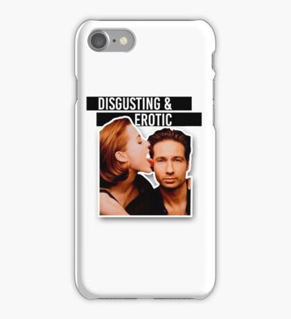 Gillian Anderson: #LickMyFace Challenge iPhone Case/Skin