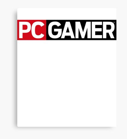 PC Gamer Canvas Print