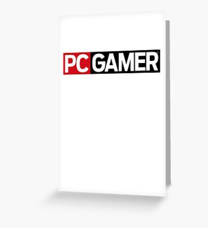PC Gamer Greeting Card