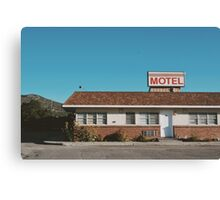 Motel (Ely, Nevada) Canvas Print
