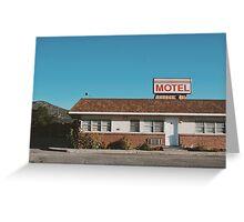 Motel (Ely, Nevada) Greeting Card
