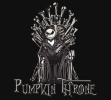 Pumpkin Throne by Aaron Morales