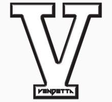 Vendetta Letterman (for zip hoodie) by jaggeh