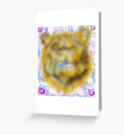 All Natural Lion  Greeting Card