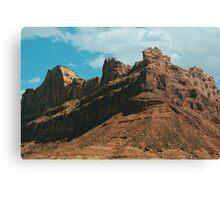 Red Rocks (Utah) Canvas Print