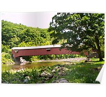 Forksville PA Covered Bridge Poster