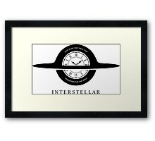 Interstellar fan art Framed Print