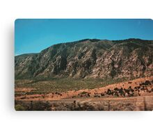 Red Rocks No.2 (Utah) Canvas Print