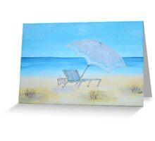 Seaside Serenity Greeting Card