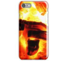 Blazing Hand of God iPhone Case/Skin