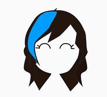 Blue Streak Hair Unisex T-Shirt