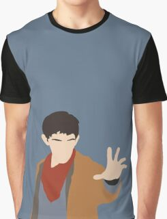 BBC Merlin Silhouette Graphic T-Shirt