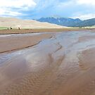 The Great Sand Dunes National Park by Bernie Garland