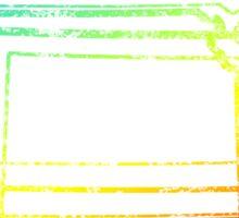 kansas chill blur Sticker