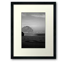 Face Rock No. 6 Framed Print