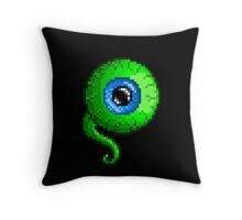 Jacksepticeye Pixel art logo - SepticeyeSam Throw Pillow