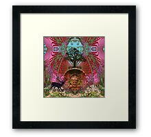 The mystery of the old Etrusks Framed Print
