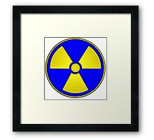 Radioactive Fallout Gamer Geek Framed Print