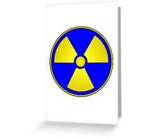 Radioactive Fallout Gamer Geek Greeting Card