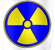 Radioactive Fallout Gamer Geek Poster