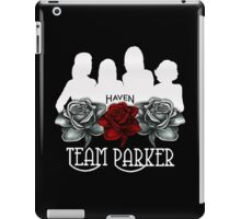 Haven Team Parker Sides Of Audrey White Logo iPad Case/Skin