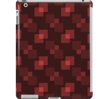 Square Pattern Designs: Maroon iPad Case/Skin