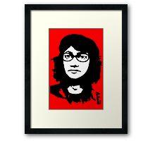 Che GueSarah Framed Print