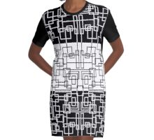 Metro Link Graphic T-Shirt Dress
