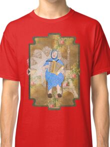 Woman Playing the Accordion Classic T-Shirt