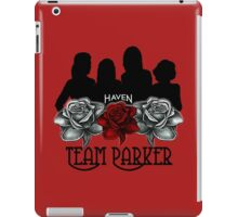 Haven Team Parker Sides Of Audrey Black Logo iPad Case/Skin