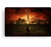 Welcome to New Vegas Canvas Print