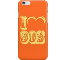 If '90s pop colors come to life again?  iPhone Case/Skin