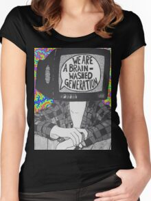 We Are A Brain Washed Generation Women's Fitted Scoop T-Shirt