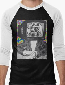 We Are A Brain Washed Generation Men's Baseball ¾ T-Shirt