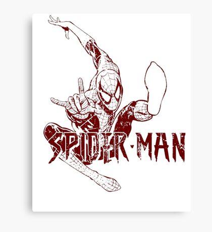 Spider-Man • Mid Air Spider! Canvas Print