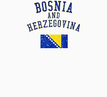 Bosnia and Herzegovina Flag Vintage Unisex T-Shirt