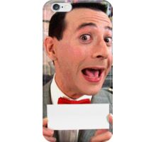 Pee Wee Herman - Write Your Own iPhone Case/Skin